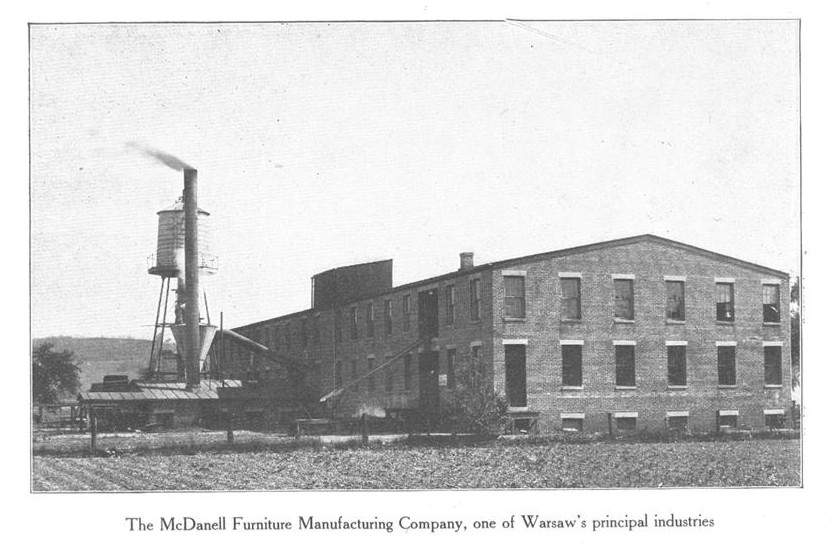 Merveilleux McDanell Furniture Manufacturing, Warsaw, Kentucky.
