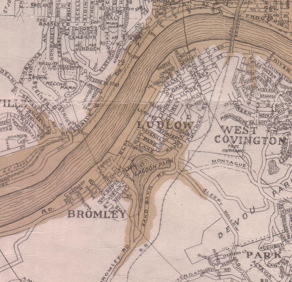 1937 Flood Scenes Covington Kentucky