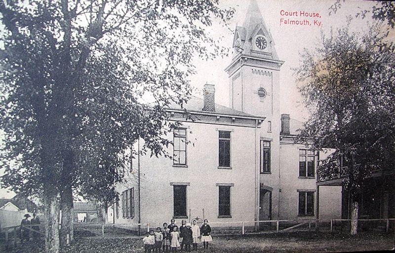 pendleton county court house  falmouth  kentucky